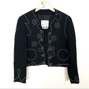 Moschino | Rare Embroidered Blazer Jacket